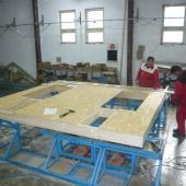 Výroba stěnového panelu
