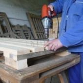 Výroba dřevěné palety
