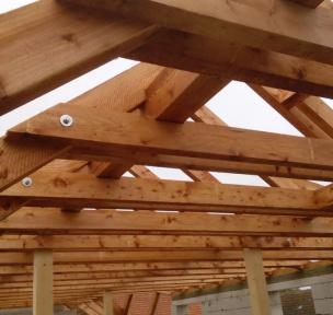 CNC dřevěné konstrukce a krovy