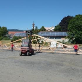 Překonali jsme svůj rekord v délce vyrobeného vazníku!