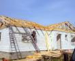 Vazníkový krov na rodinném domě na Pelhřimovsku