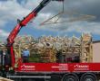 Nové skladovací prostory materiálu v Tesariu