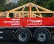 Naše nové nákladní auto v plném nasazení