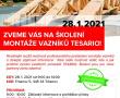 Školení na montáž vazníků v roce 2021