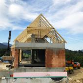 Rodinný dům Ostravice CNC krov